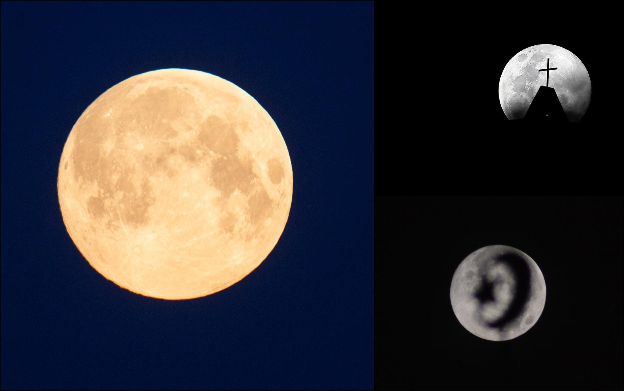 Flipboard: La super Luna piena di maggio 2020. FOTO