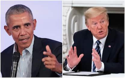 """Coronavirus Usa, Obama: """"Risposta Trump un disastro totale"""""""