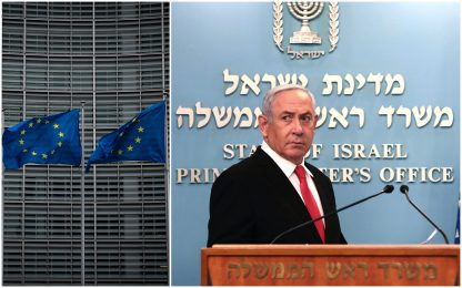 """Ue avverte Israele: """"In caso di annessioni della Cisgiordania agiremo"""""""