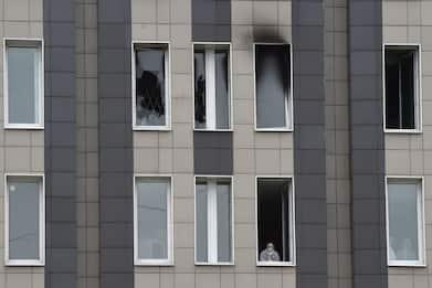 Russia, incendio in un ospedale Covid a San Pietroburgo: 5 morti