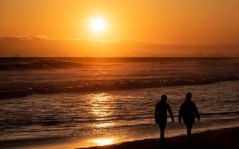 Coronavirus, California, spiagge