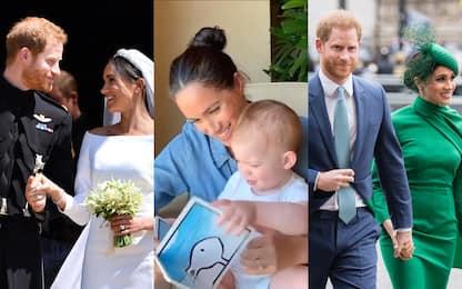 Harry e Meghan, due anni fa le nozze: 24 mesi d'amore in 24 foto