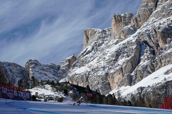CORTINA D'AMPEZZO, ITALY - JANUARY 20 :  A general view during the Audi FIS Alpine Ski World Cup Women's Super G on January 20, 2019 in Cortina d'Ampezzo Italy. (Photo by Francis Bompard/Agence Zoom/Getty Images)