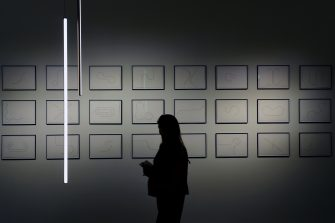MILAN, ITALY - APRIL 13:  Atmosphere at the Floss Home Pavilion at Salon del Mobile during Milan Design Week on April 13, 2019 in Milan, Italy.  (Photo by Pier Marco Tacca/Getty Images)