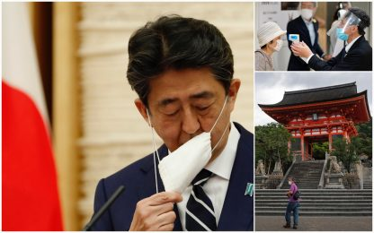 Coronavirus, il Giappone annuncia la fine dello stato d'emergenza