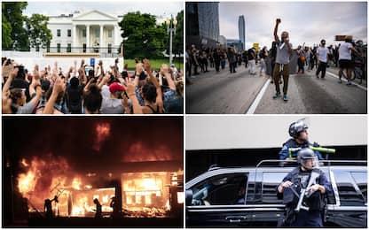 Proteste per Floyd: morti un 19enne a Detroit e un agente a Oakland