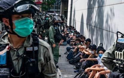 Riprendono le proteste a Hong Kong. FOTO