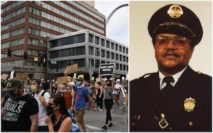 Proteste per George Floyd, poliziotto in pensione ucciso a St. Louis