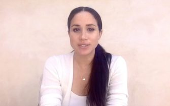 """BGUK_1942306 - Los Angeles,   - Megan Markle, The Duchess of Sussex, addesses the graduating class of Immaculate Heart High School virtual commencement speech.  """"What is happening in our country and in our state and in our hometown of LA… I wasn't sure what I could say to you. I wanted to say the right thing. I realized the only wrong thing to say is to say nothing because George Floyd's life mattered and Breonna Taylor's life mattered and Philando Castile's life mattered and Tamir Rice's life mattered… and so did so many other people whose names we know and whose names we do not know,"""" said Markle.      ---------           *BACKGRID DOES NOT CLAIM ANY COPYRIGHT OR LICENSE IN THE ATTACHED MATERIAL. ANY DOWNLOADING FEES CHARGED BY BACKGRID ARE FOR BACKGRID'S SERVICES ONLY, AND DO NOT, NOR ARE THEY INTENDED TO, CONVEY TO THE USER ANY COPYRIGHT OR LICENSE IN THE MATERIAL. BY PUBLISHING THIS MATERIAL , THE USER EXPRESSLY AGREES TO INDEMNIFY AND TO HOLD BACKGRID HARMLESS FROM ANY CLAIMS, DEMANDS, OR CAUSES OF ACTION ARISING OUT OF OR CONNECTED IN ANY WAY WITH USER'S PUBLICATION OF THE MATERIAL*  Pictured: Meghan Markle  BACKGRID UK 4 JUNE 2020   UK: +44 208 344 2007 / uksales@backgrid.com  USA: +1 310 798 9111 / usasales@backgrid.com  *UK Clients - Pictures Containing Children Please Pixelate Face Prior To Publication* (RUBA / IPA/Fotogramma, Los Angeles - 2020-06-04) p.s. la foto e' utilizzabile nel rispetto del contesto in cui e' stata scattata, e senza intento diffamatorio del decoro delle persone rappresentate"""