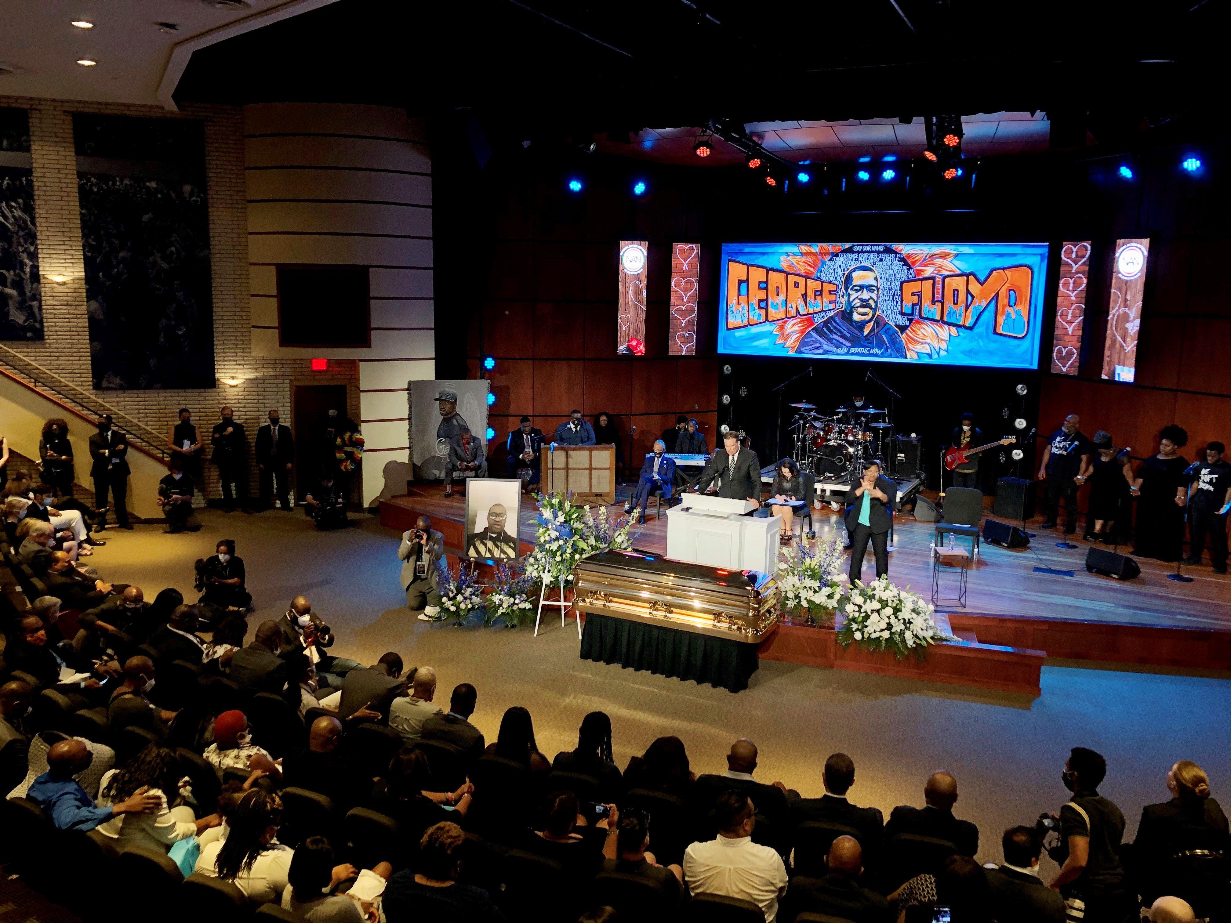 Funerali Goerge Floyd