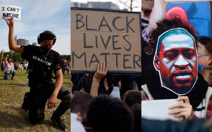 La proteste del movimento Black Lives Matter nel mondo