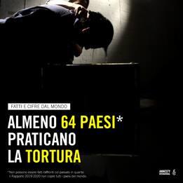 Amnesty , il rapporto annuale sulla violazione dei diritti umani