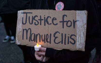 Tacoma: veglia per Manuel Ellis, morto durante fermo polizia. FOTO