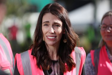 TAURANGA, NEW ZEALAND - JUNE 09: Prime Minister Jacinda Ardern speaks to the media after the visit to Trevelyanâ  s Kiwifruit and Avocado Packhouse on June 09, 2020 in Tauranga, New Zealand. COVID-19 restrictions were lifted from midnight as New Zealand moved to COVID-19 Alert Level 1 as the government confirmed there are zero active cases in the country. The lifting of restrictions under Alert Level 1 will see life mostly return to normal in New Zealand, however strict border measures will remain with mandatory isolation and quarantine for any overseas arrivals. New Zealanders are also being asked to keep diaries in the event of a second wave of infections. (Photo by Michael Bradley/Getty Images)