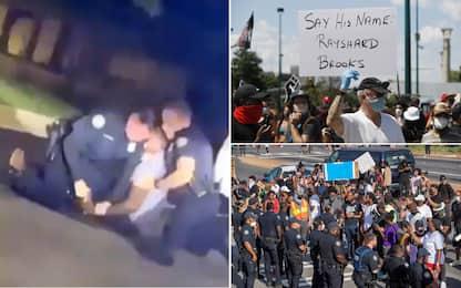 Atlanta, proteste per morte afroamericano. Licenziato poliziotto
