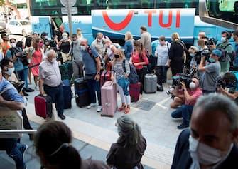 Turisti tedeschi, Baleari, Palma di Maiorca
