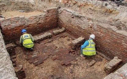 Red Lion, riaffiora dagli scavi il teatro più antico di Londra