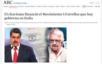"""M5S, spagnolo Abc: """"Nel 2010 finanziato da Chavez"""". Crimi: """"Fake news"""""""