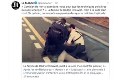 Cedric Chouviat, il rider francese morto durante un fermo di polizia
