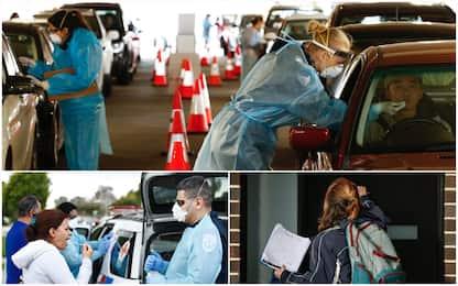 Coronavirus, Australia teme seconda ondata: tamponi a tappeto. FOTO