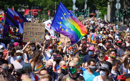 Global Pride 2020, l'Europa celebra l'orgoglio LGBTQ+. FOTO