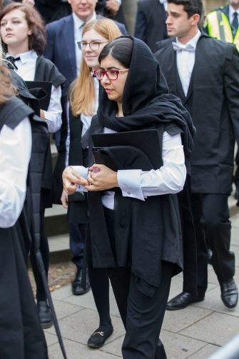 Malala Yousafzai a Oxford