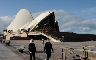 The Sydney Opera House remains closed to performances due to the global Covid-19 pandemic on June 09, 2020 in Sydney, Australia. With such few tourists in Sydney the area around the Opera House remains quiet with signs reminding visitors that performances and all outlets are closed due to the coronavirus.
