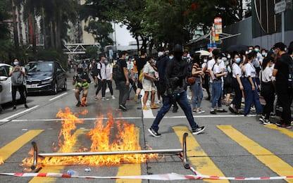 Hong Kong, in vigore legge sicurezza nazionale: proteste e arresti