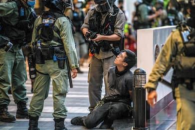 Hong Kong, circa 370 arresti per le proteste. FOTO