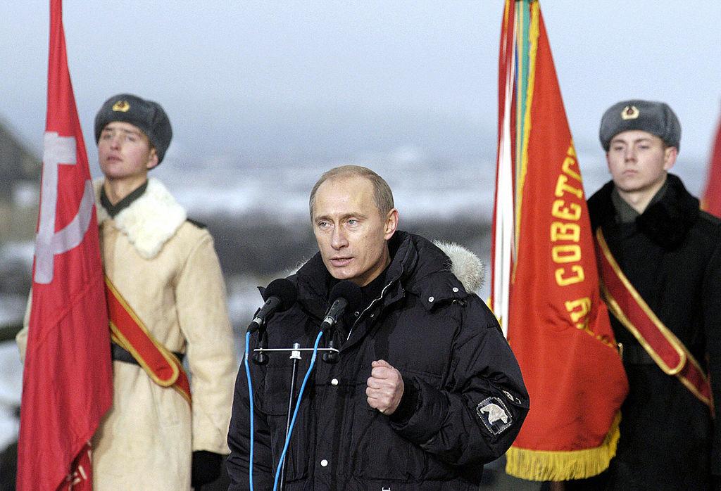 Putin parata Russia 2004