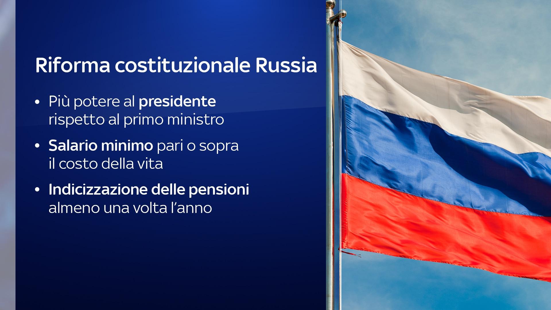 riforma costituzionale russia