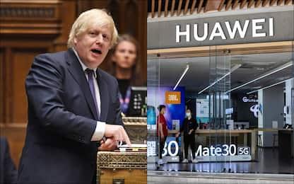 Rete 5G, il Regno Unito dice stop alla fornitura di Huawei