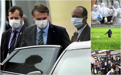 Coronavirus, nel mondo oltre 11,6 milioni casi. Bolsonaro ha sintomi