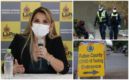 Coronavirus, Usa: 65mila nuovi casi. Bolivia, positiva presidente Anez