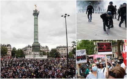 Parigi, protesta del settore sanitario: tensioni con la polizia. FOTO