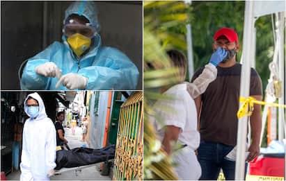 Coronavirus, record contagi negli Usa. Situazione critica in Brasile