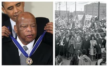 Usa: è morto John Lewis, icona dei diritti civili. FOTO