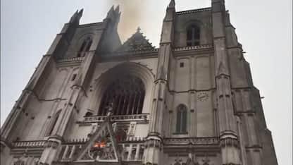 Incendio alla cattedrale di Nantes, confessa il responsabile