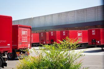 A view of the warehouse of the Bartolini transport-and-delivery firm in Bologna, Italy, 26 June 2020. Dozens of employees of Bologna's Bartolini transport-and-delivery firm have contracted the coronavirus. The company has closed a warehouse but has not halted activity. The authorities are considering conducting swabs on all the firm's employees. ANSA/ MAX CAVALLARI