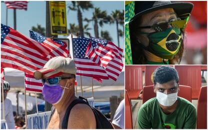 Coronavirus, da Usa a Bangladesh: i 10 Paesi con più contagi in 24 ore