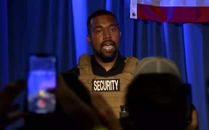 """Usa 2020, Kanye West: """"Dare un mln di dollari a chi avrà un bambino"""""""