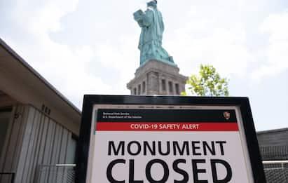Coronavirus, a New York i turisti sono un ricordo. FOTO