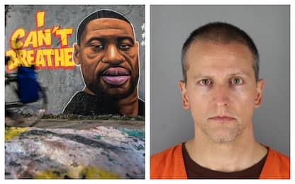 George Floyd, scarcerato su cauzione l'agente che lo ha ucciso