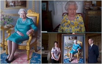 Ritratto regina Elisabetta presentato online, non era mai accaduto