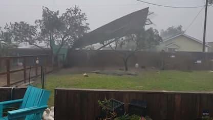 Usa, l'uragano Hanna si abbatte sul Texas. VIDEO