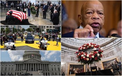 John Lewis, a Washington l'ultimo saluto prima dei funerali privati