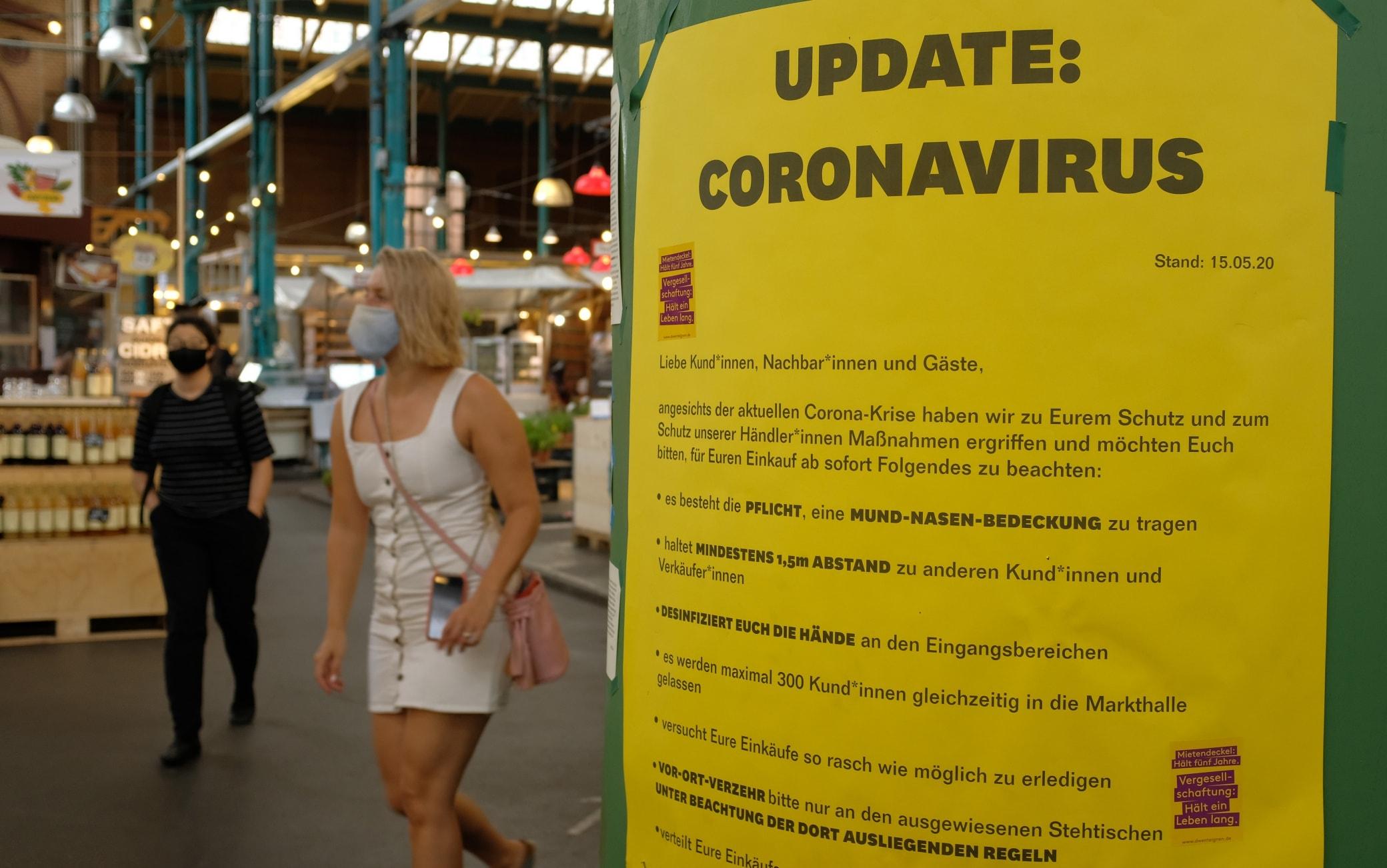 coronavirus berlino