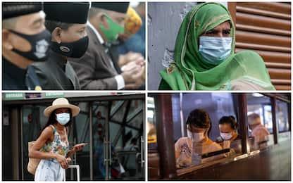 Coronavirus: i 10 Paesi con più contagi in 24 ore. FOTO