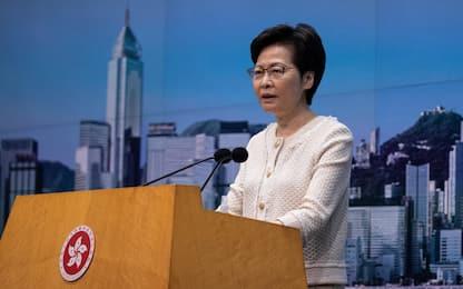 Hong Kong, Lam: elezioni rinviate di un anno a causa del coronavirus