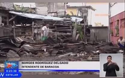 Cuba, l'urugano Isaia devasta la città costiera di Baracoa. VIDEO
